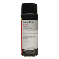 Outboard Spray Touch Up Paint Phantom Black (All plus Parsun 15hp+) - 340g
