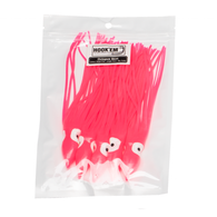 Bright Pink Lure Skirt 30cm 2 pack