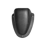 Black ABS Clamshell Vent 60 x 55 x 21mm