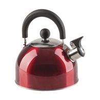 SS Deluxe Blue Whistling Kettle 2.0 Litres