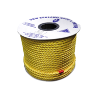 Yellow Floating Polypropylene Rope- Per Metre