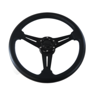 "Premium 3 Spoke 13.5"" Daytona Steering Wheel w/Black Centre"