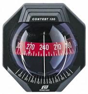 Contest 130 Bulkhead Mount Marine Compass-Black/130mm Card
