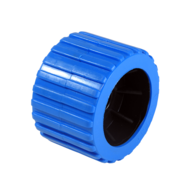 Trailer Wobble Roller Wheel-Blue (each)