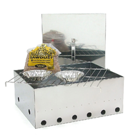 Stainless Steel Deluxe 1 Tray Smoker
