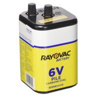 6 Volt Super Heavy Duty Drycell Battery