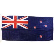 """Heavy Duty Bunting New Zealand Blue Flag 45x90cm (18""""x36"""")"""
