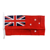 """Heavy Duty Bunting New Zealand Red Ensign Flag  (12""""x24"""")"""