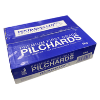 Pilchards 5kg Box Frozen Bait - Click & Collect / Buy Instore Only