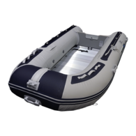 Inflatable 2.70m - Alloy Floor W/Inflatable Keel (Navy/Grey)  (due 24/12/20)