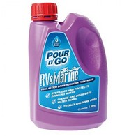 Pour and Go Rv/Marine Water Tank Treatment 1 Litre (Treats up to 10000 Litres)