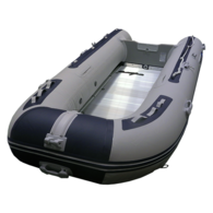 Inflatable 3.20m - Alloy Floor w/Inflatable Keel - Navy/Grey