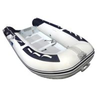 Inflatable 3.40m Alloy RIB Deluxe RIB w/Dbl Flat Floor and Locker