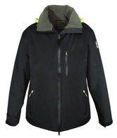 Crew/Deck Jacket Waterproof and Breathable - Black/Graphite