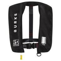 Inflatable Lifejacket Adult Manual 150N - Black