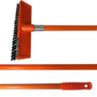 Deck Scrub Brush w/Fiberglass Handle