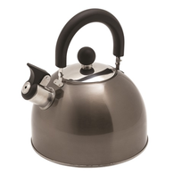 SS Deluxe Graphite Whistling Kettle 2.5 Litres