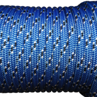 8mm Yacht Braid Hi Perf Dyneema - per metre - Blue