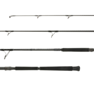 GT Monster 2-PC topwater Rod Spin PE3-6 8'0""