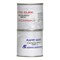 1:1 2-Part Rapid Cure Epoxy Glue/Resin  - 250ml Pack