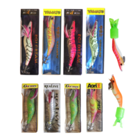 HOLIDAY JIG SQUID PACK (9-PK)