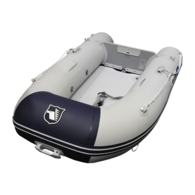 Inflatable 2.30m Airdeck Compact - Navy/Grey