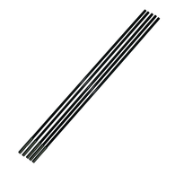 TENT POLE F/GLASS SECTION 8.5MM X 680MM (5 PACK)