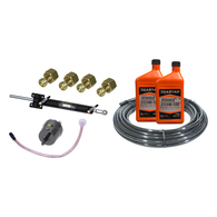 Hydraulic Outboard Steering Kit to 150HP, Side Mt Cylinder (15m hose)