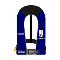 Automatic 150n CO2 Adult Inflatable Lifejacket- Royal Blue
