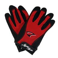 3D Premium Jigging Gloves - Red