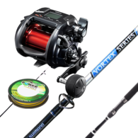 "Plays 4000 Electric Combo with Vortex 5'7"" 15-24kg Rod with Braid"