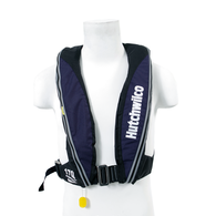Inflatable Lifejacket Adult Manual 170N - Navy