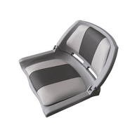 Traveller Padded Folding Seat Grey/Dark Grey