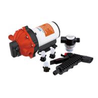 Automatic 5-Chamber Washdown Pump Set Complete 24v - 18.9LPM - 60psi (New Model)