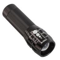 LED Torch 300 Lumens - Black