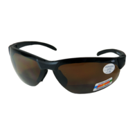 Sunglasses Bi-Focal - Black/Brown