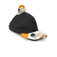 Cap with Built In LED Light - Black