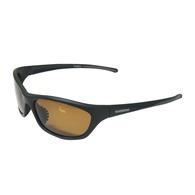 Exage Polarised Boating / Fishing Sunglasses - Black with Amber Lens