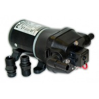 17LPM 24V Pressure Pump with Inline Strainer - 40PSI