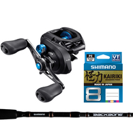 SLX 150DC / Backbone 7' Baitcast Combo with Braid