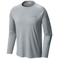 Terminal Tackle Long Sleeve Tee Shirt - Cool Grey