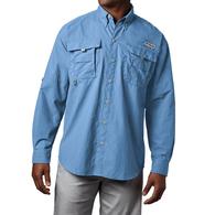 Mens Bahama II Long Sleeve Fishing Shirt Sail Blue