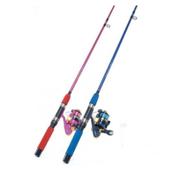 LED Minnow 3'6 Kids Spin Combo 2-4KG Spooled