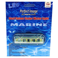 MARINE UNDERWATER/ABOVE LED LIGHT DUAL COLOUR