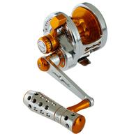 Powerspell PE8 Lever Drag Jigging Reel Silver/Gold