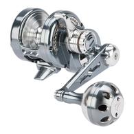 Powerspell PE3 Lever Drag Jigging Reel - Grey/Silver