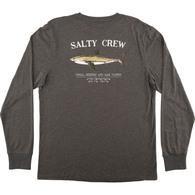 Bruce Kids Long Sleeve T-Shirt - Charcoal