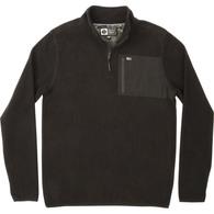 Northern Quarter Zip Hooded Fleece - Black