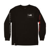 Flatbill Long Sleeve T-Shirt - Black