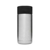 Rambler 12oz (354ml) Flask with Hotshot Cap - Stainless Steel